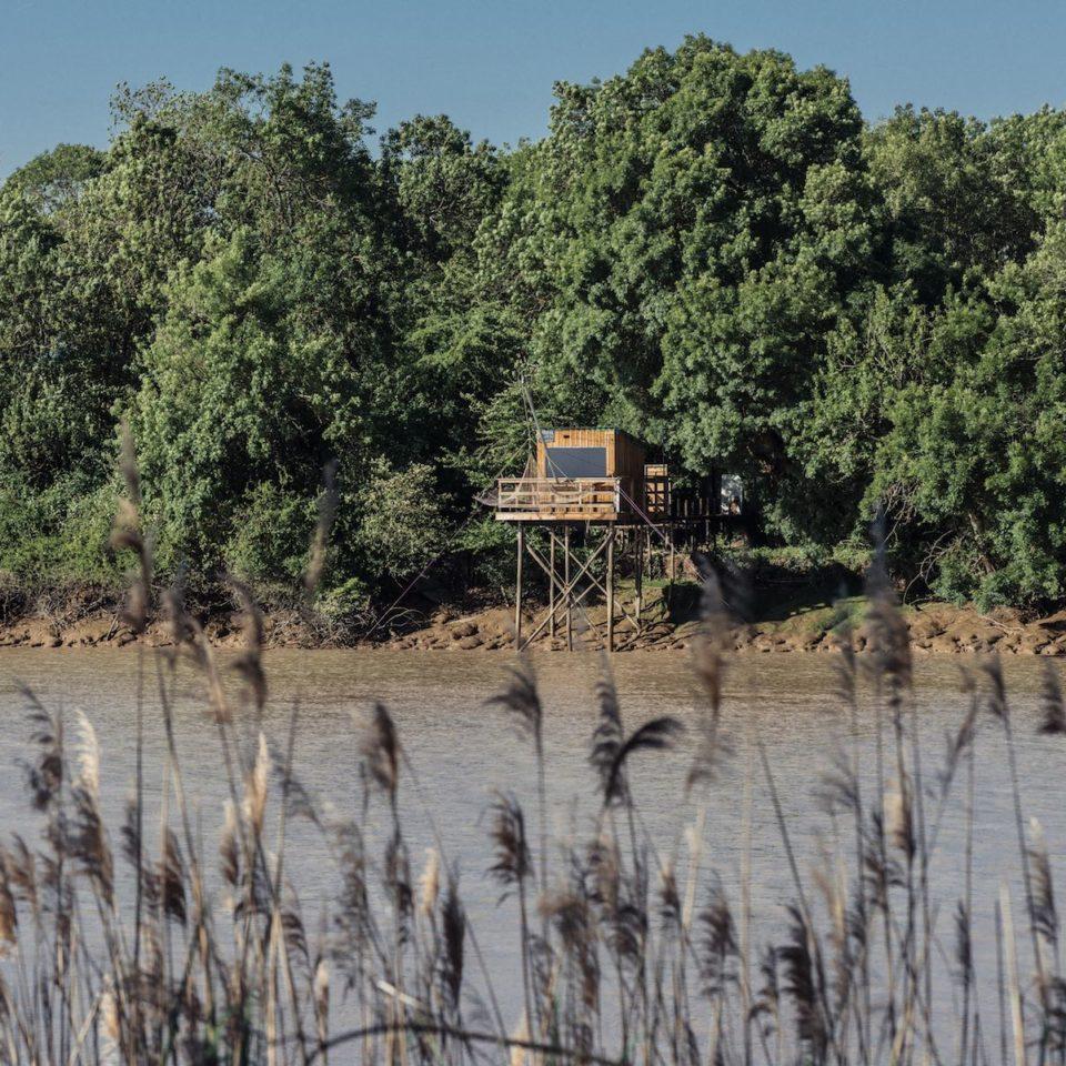 Les carrelets des bords de Garonne