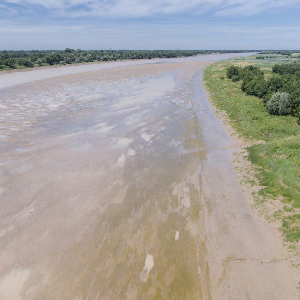 Vue plongeante sur les Bords de Garonne