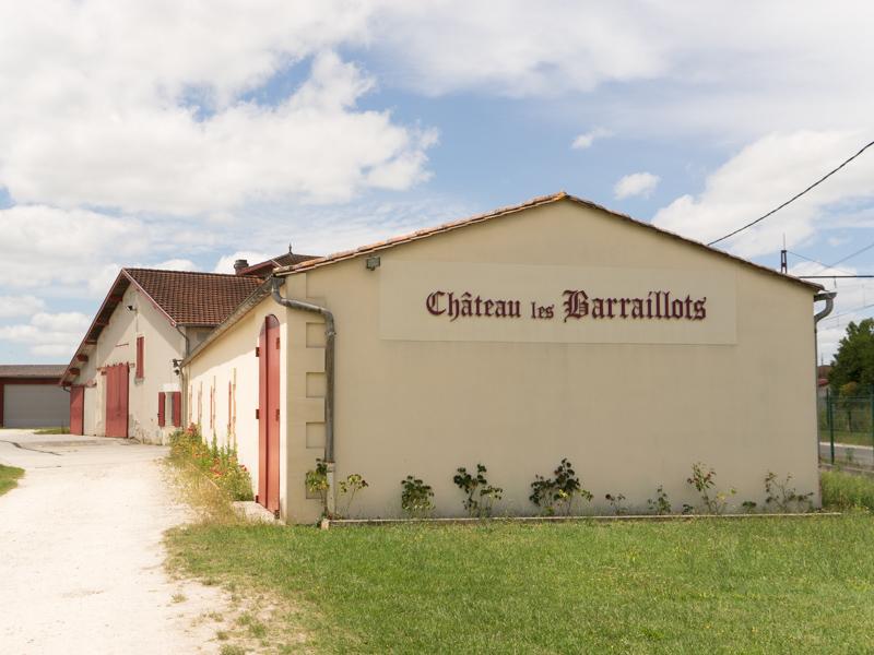 Château les Barraillots - producteurs accueillants